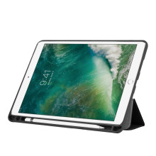Vaku ® Apple iPad 10.5 / iPad Air 3 Aniline Texture Series 360 Degree shock-proof Water-resistant Magnetic Stand Flip Cover with Pencil Holder