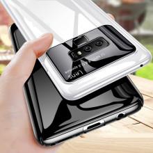 Vaku ® Samsung Galaxy Note 9 Polarized Glass Glossy Edition PC 4 Frames + Ultra-Thin Case Back Cover