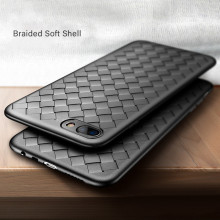 Vaku ® Oppo A3s WeaveNet Series Cross-Knitt Heat-Dissipation Edition Ultra-Thin TPU Back Cover