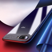Vaku ® Oppo A3s Kowloon Series Top Quality Soft Silicone 4 Frames + Ultra-Thin Transparent Back Cover