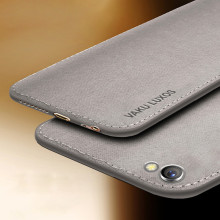 Vaku ® Vivo Y69 Luxico Series Hand-Stitched Cotton Textile Ultra Soft-Feel Shock-proof Water-proof Back Cover