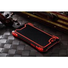 R-JUST ® Apple iPhone 6 / 6S Amira Carbon Fiber + Shockproof + Dustproof + Water Resistant Back Cover