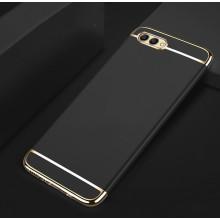 Vaku ® Huawei P9 Lite (2017) / Honor 9 Lite Ling Series Ultra-thin Metal Electroplating Splicing PC Back Cover
