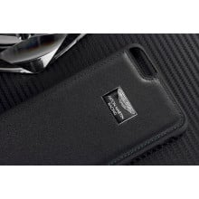 Aston Martin Racing ® Apple iPhone 5 / 5S / SE Official Hand-Stitched Leather Case Limited Edition Back Cover
