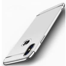 VAKU ® Apple iPhone X Ling Series Ultra-thin Metal Electroplating Splicing PC Back Cover