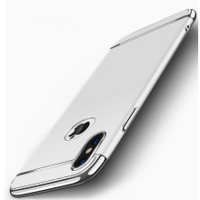 VAKU ® Apple iPhone XS Ling Series Ultra-thin Metal Electroplating Splicing PC Back Cover