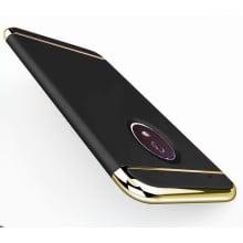 Vaku ® MOTO G5 Plus Ling Series Ultra-thin Metal Electroplating Splicing PC Back Cover