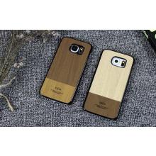 Kajsa ® Samsung Galaxy S6 Edge Outdoor Natural Wood Series Protective Case Back Cover