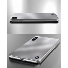 BMW ® Apple iPhone XS 7 Series Steel Edition Luxurious Metal Case Limited Edition Back Cover