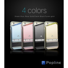 Popline ® iPhone 6 / 6s Modern Series Protective case + Power with Detachable Mic & Wireless Bluetooth Speaker Hard Case Back Cover