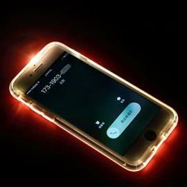 FashionCASE ® Samsung Galaxy A8 LED Light Tube Flash Lightening Case Back Cover