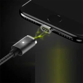Rock ® Smart Fast Charging with Auto-Magnet Connector Apple Lightning Port Charging / Data Cable