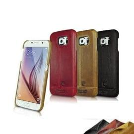 Pierre Cardin ® Samsung Galaxy S6 Paris Design Premium Leather Case Back Cover
