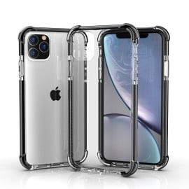 Vaku ® Apple iPhone 11 Pro High-Drop Crash-Proof Ultra Guard Series Three-Layer Protection TPU Back Cover