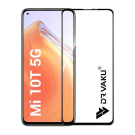 Dr. Vaku ® Xiaomi Mi10T Full Edge-to-Edge Ultra-Strong Ultra-Clear Full Screen Tempered Glass- Black