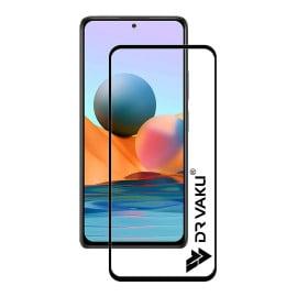 Dr. Vaku ® Xiaomi Mi Note 10 Full Edge-to-Edge Ultra-Strong Ultra-Clear Full Screen Tempered Glass- Black