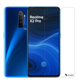 Dr. Vaku ® Realme X2 Pro 2.5D Ultra-Strong Ultra-Clear Full Screen Tempered Glass-Transparent