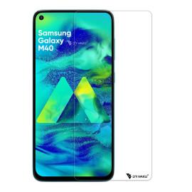 Dr. Vaku ® Samsung Galaxy M40 2.5D Ultra-Strong Ultra-Clear Full Screen Tempered Glass-Transparent