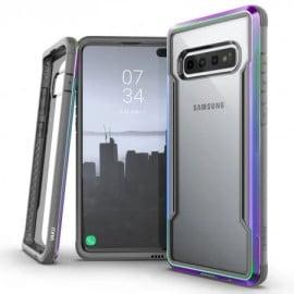 Vaku ® Samsung Galaxy S10 Anti-Drop Aluminum Defense Shield Cover