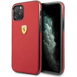 Scuderia Ferrari ® F8 Tributo Design Apple iPhone 11 Metallic Finish Back Cover -Red