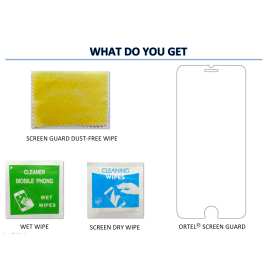 Ortel ® Karbonn A4 Screen guard / protector