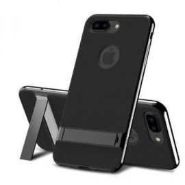 Rock ® Apple iPhone 7 Royle Case Ultra-thin Dual Metal + inbuilt Stand Soft / Silicon Case