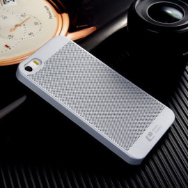 ioop ® Apple iPhone 5 / 5S / SE Perforated Series Logo Display PC Heat Dissipation Hollow Back Cover