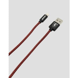 Ferrari ® Nylon Braided MFI Certified Lightning and Sync Data cable