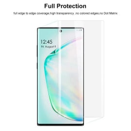 Dr. Vaku ® Samsung Galaxy Note 10  Plus Nano Optic Curved Tempered Glass with UV Light