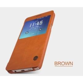 Nillkin ® Samsung Galaxy Note 5 Nitq Folio Leather Smart Window View Protective Case Flip Cover