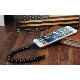 PMMA ® Amaozus Beads Bracelet Apple Lightning Port Charging / Data Cable