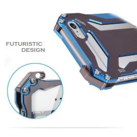 R-JUST ® Apple iPhone 6 Plus / 6S Plus GUNDAM Aluminium Alloy Dual-Color Oxidation Metal Case Back Cover