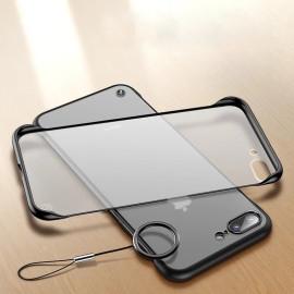 VAKU ® Apple iPhone 7 Plus Frameless Semi Transparent Cover