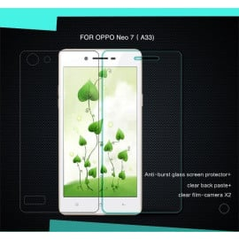 Dr. Vaku ® Oppo Neo 7 Ultra-thin 0.2mm 2.5D Curved Edge Tempered Glass Screen Protector Transparent