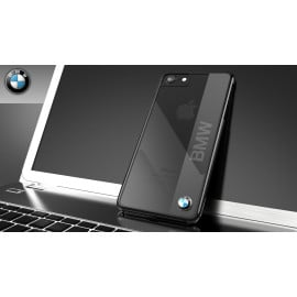 BMW ® Apple iPhone 8 Official Executive Strip Luxury Edition Case Back Cover