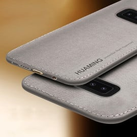 Vaku ® Samsung Galaxy Note 8 Luxico Series Hand-Stitched Cotton Textile Ultra Soft-Feel Shock-proof Water-proof Back Cover
