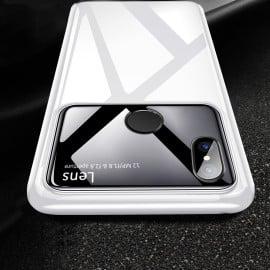 Vaku ® Xiaomi Redmi Note 5 Pro Polarized Glass Glossy Edition PC 4 Frames + Ultra-Thin Case Back Cover