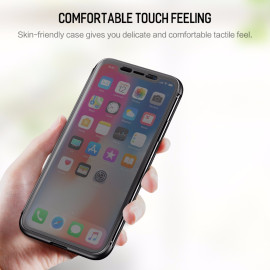 Rock ® Apple iPhone X / XS DR.Vaku Invisible SmartView Translucent Touch Case Flip Cover