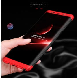 FCK ® Samsung Galaxy Note 8 5-in-1 360 Series PC Case Dual-Colour Finish Ultra-thin Slim Front Case + Back Cover