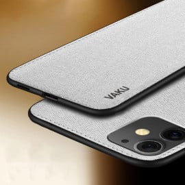 Vaku ® Apple iPhone 11 Luxico Series Hand-Stitched Cotton Textile Ultra Soft-Feel Shock-proof Water-proof Back Cover
