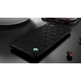 BMW ® Apple iPhone 8 Official Superstar zDRIVE Leather Case Limited Edition Back Cover