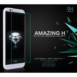 Dr. Vaku ® HTC Desire 816 Ultra-thin 0.2mm 2.5D Curved Edge Tempered Glass Screen Protector Transparent