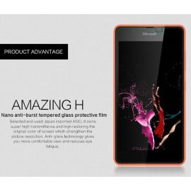 Dr. Vaku ® Microsoft Lumia 540 Ultra-thin 0.2mm 2.5D Curved Edge Tempered Glass Screen Protector Transparent