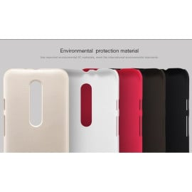 Nillkin ® Motorola G3 Super Frosted Shield Dotted Anti-Slip Grip PC Back Cover