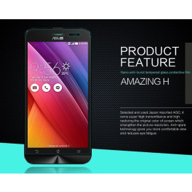 Dr. Vaku ® Asus Zenfone 2 Laser / ZE500KL Ultra-thin 0.2mm 2.5D Curved Edge Tempered Glass Screen Protector Transparent