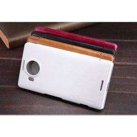 Nillkin ® Microsoft Lumia 950 XL Nitq Folio Leather Protective Case with Credit Card Slot Flip Cover