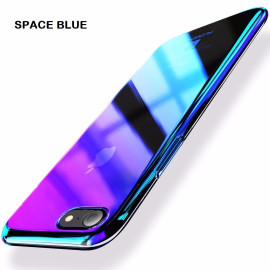 Kanjian ® Apple iPhone 8 Infinity Series with UV Colour Shine Transparent Full Display PC Back Cover
