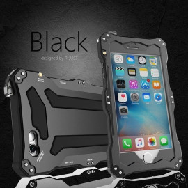 VAKU ® Apple iPhone 6 / 6S Gundam 2M Shockproof/Dirtproof/Snowproof with Gorilla Glass Aluminium Alloy Metal Case Back Cover