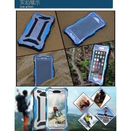 R-JUST ® Apple iPhone 6 Plus / 6S Plus Gundam 2M Waterproof/Shockproof/Dirtproof/Snowproof with Gorilla Glass Aluminium Alloy Metal Case Back Cover