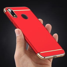 Vaku ® Samsung Galaxy M20 Ling Series Ultra-thin Metal Electroplating Splicing PC Back Cover